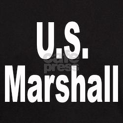 U.S. Marshall Black T-Shirt
