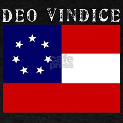 "Black ""Deo Vindice"" T-Shirt"