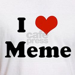 I Love Meme Shirt
