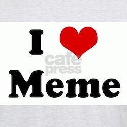 I Love Meme T-Shirt