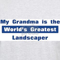 Grandma is Greatest Landscape T-Shirt