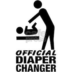 Official Diaper Changer (M) T-Shirt