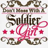 Female soldier Sweatshirts & Hoodies