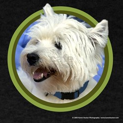 West Highland White Terrier Art T-Shirt
