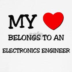 My Heart Belongs To An ELECTRONICS ENGINEER T