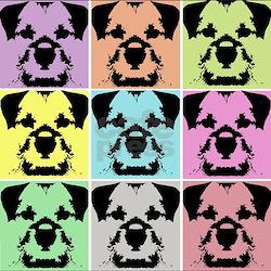 Border Terrier a la Warhol 4 T-Shirt
