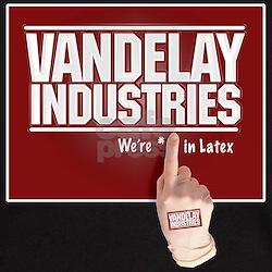 VANDELAY LATEX #1 - Black T-Shirt