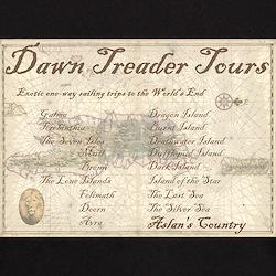 Dawn Treader Tours Black T-Shirt