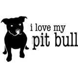 Love My Pit Bull (Natural Ears) Mug