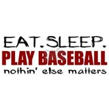 Eat Sleep Play Baseball Mug