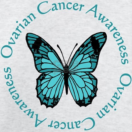 Ovarian cancer awareness t shirt by cafecure for Ovarian cancer awareness t shirts