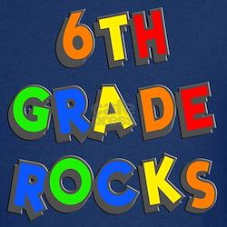 6th Grade Rocks T