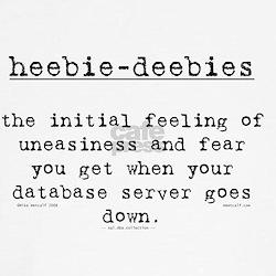 heebie-deebies Tee
