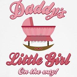 Daddy's Girl On Way Tee