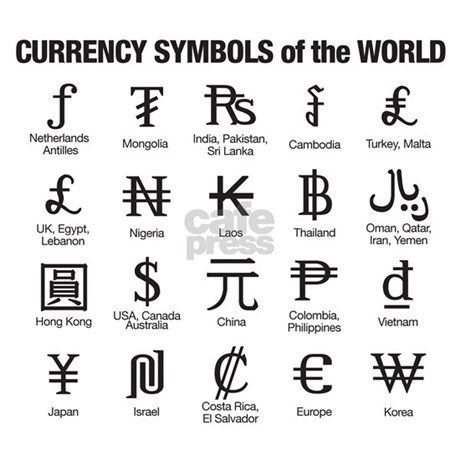 List Of Currency Symbols Forex Trading