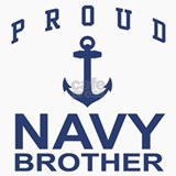 Navy Brother Ceramic Travel Mug