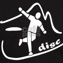 Disc Launch Black T-Shirt