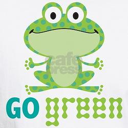 Go Green Frog Shirt