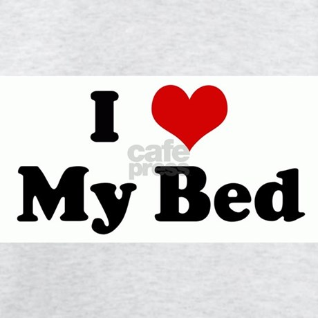 I Love My Bed Mesmerizing Of heart gifts i heart mens i love my bed light t shirt Photo