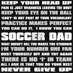 Soccer Dad Quotes T-Shirt