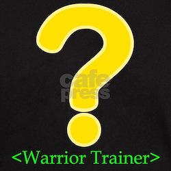 Warrior Trainer Black T-Shirt for gamers