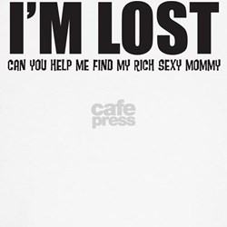 Im Lost Can You Help Me Find My Sexy Mommy T-Shirt