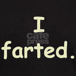 I farted Black T-Shirt