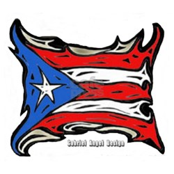 Puerto Rico Heat Flag Shirt