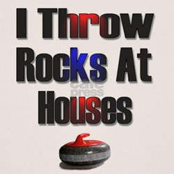I Throw Rocks At Houses Tee