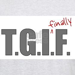 TGIFF it's finally friday T-Shirt