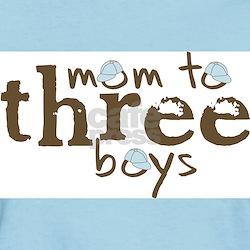 Mom to Three Boys Tshirt T-Shirt