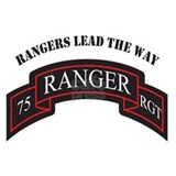75th Ranger Scroll Rangers L Mug