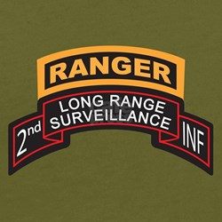 2nd INF LRS Scroll with Range T-Shirt