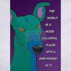 Colorful Greyhound Tee