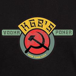 KGB's Place New York City Poker T-Shirt
