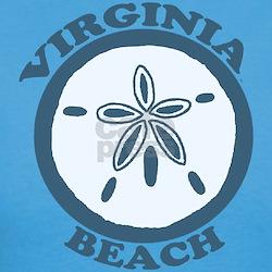 Virginia Beach VA - Sand Dollar Design Tee