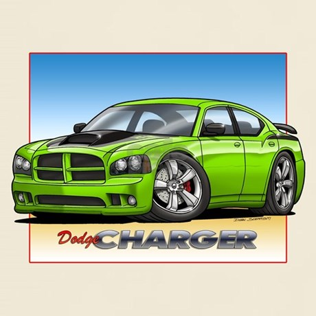 sublime green charger tshirt by grapeapedesign