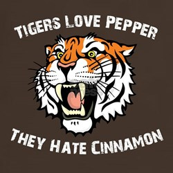 Tigers Love Pepper, They Hate Cinnamon