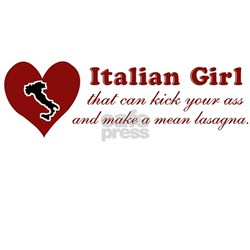 Funny Italian Girl Shirt