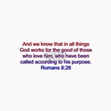 Romans 8:28 Ceramic Travel Mug