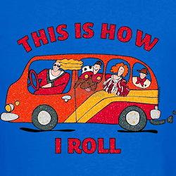 How I Roll Mom Minivan T