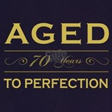 70th birthday Aprons
