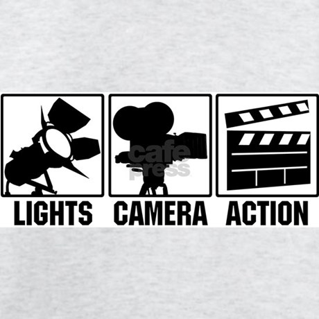 Lights Camera Action T Shirt By Lightscameraact