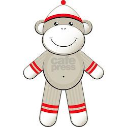 Red Sock Monkey Shirt