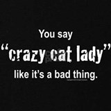 Crazy cat lady Sweatshirts & Hoodies