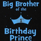 1st birthday prince T-shirts