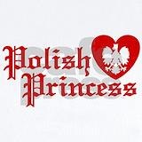 Polish princess Baby Bodysuits
