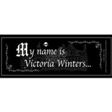 Victoria Winter B&W Coffee Mug