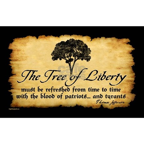 Tree Of Liberty Quote T Jefferson Decal By Rightwingstuff