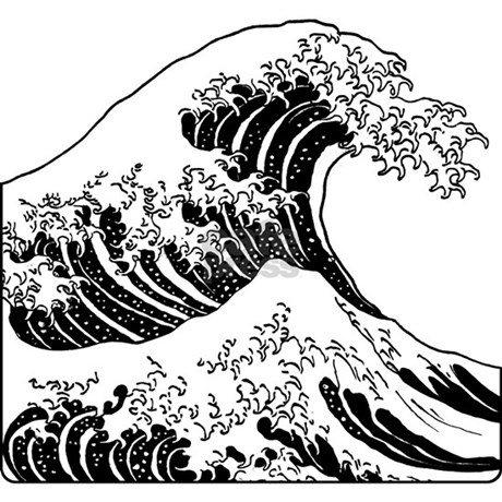 How to download snapchat on iphone how free engine image for The great wave coloring page
